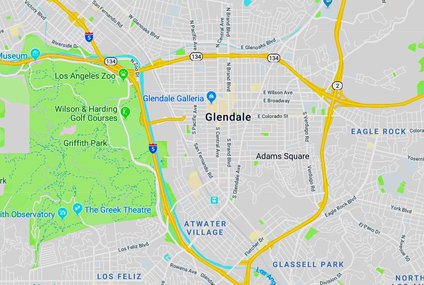 Glendale CA area